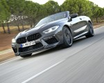 2020 BMW M8 Competition Convertible (Color: Brands Hatch Grey) Front Three-Quarter Wallpapers 150x120 (5)