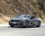 2020 BMW M8 Competition Convertible (Color: Brands Hatch Grey) Front Three-Quarter Wallpapers 150x120 (6)