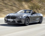 2020 BMW M8 Competition Convertible (Color: Brands Hatch Grey) Front Three-Quarter Wallpapers 150x120 (7)