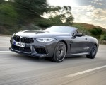 2020 BMW M8 Competition Convertible (Color: Brands Hatch Grey) Front Three-Quarter Wallpapers 150x120 (8)