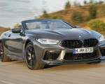 2020 BMW M8 Competition Convertible (Color: Brands Hatch Grey) Front Three-Quarter Wallpapers 150x120 (17)