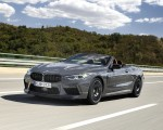 2020 BMW M8 Competition Convertible (Color: Brands Hatch Grey) Front Three-Quarter Wallpapers 150x120 (13)