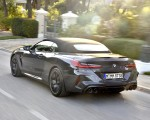 2020 BMW M8 Competition Convertible (Color: Brands Hatch Grey) Rear Three-Quarter Wallpapers 150x120 (35)