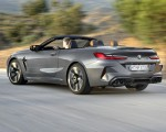 2020 BMW M8 Competition Convertible (Color: Brands Hatch Grey) Rear Three-Quarter Wallpapers 150x120 (22)