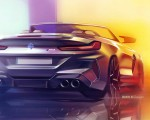 2020 BMW M8 Competition Convertible Design Sketch Wallpapers 150x120 (50)