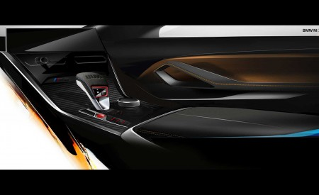 2020 BMW M8 Competition Convertible Design Sketch Wallpapers 450x275 (53)