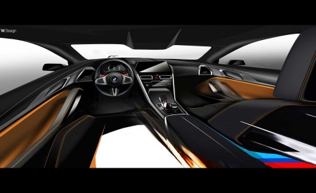 2020 BMW M8 Competition Convertible Design Sketch Wallpapers 450x275 (52)