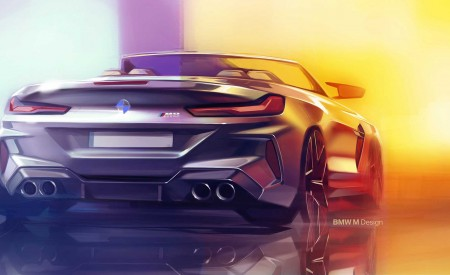 2020 BMW M8 Competition Convertible Design Sketch Wallpapers 450x275 (50)