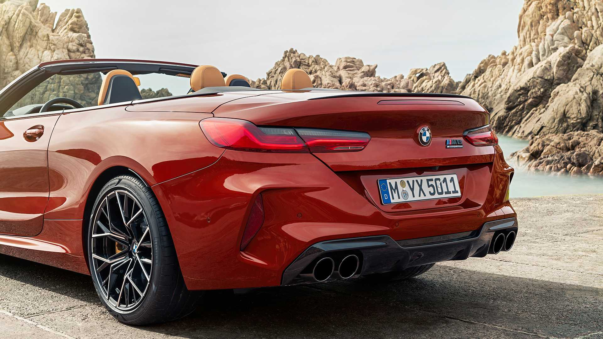 2020 Bmw M8 Competition Convertible Detail Wallpapers 30