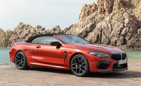 2020 BMW M8 Competition Convertible Front Three-Quarter Wallpapers 450x275 (9)