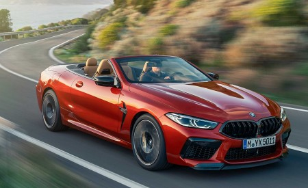 2020 BMW M8 Competition Convertible Front Three-Quarter Wallpapers 450x275 (2)