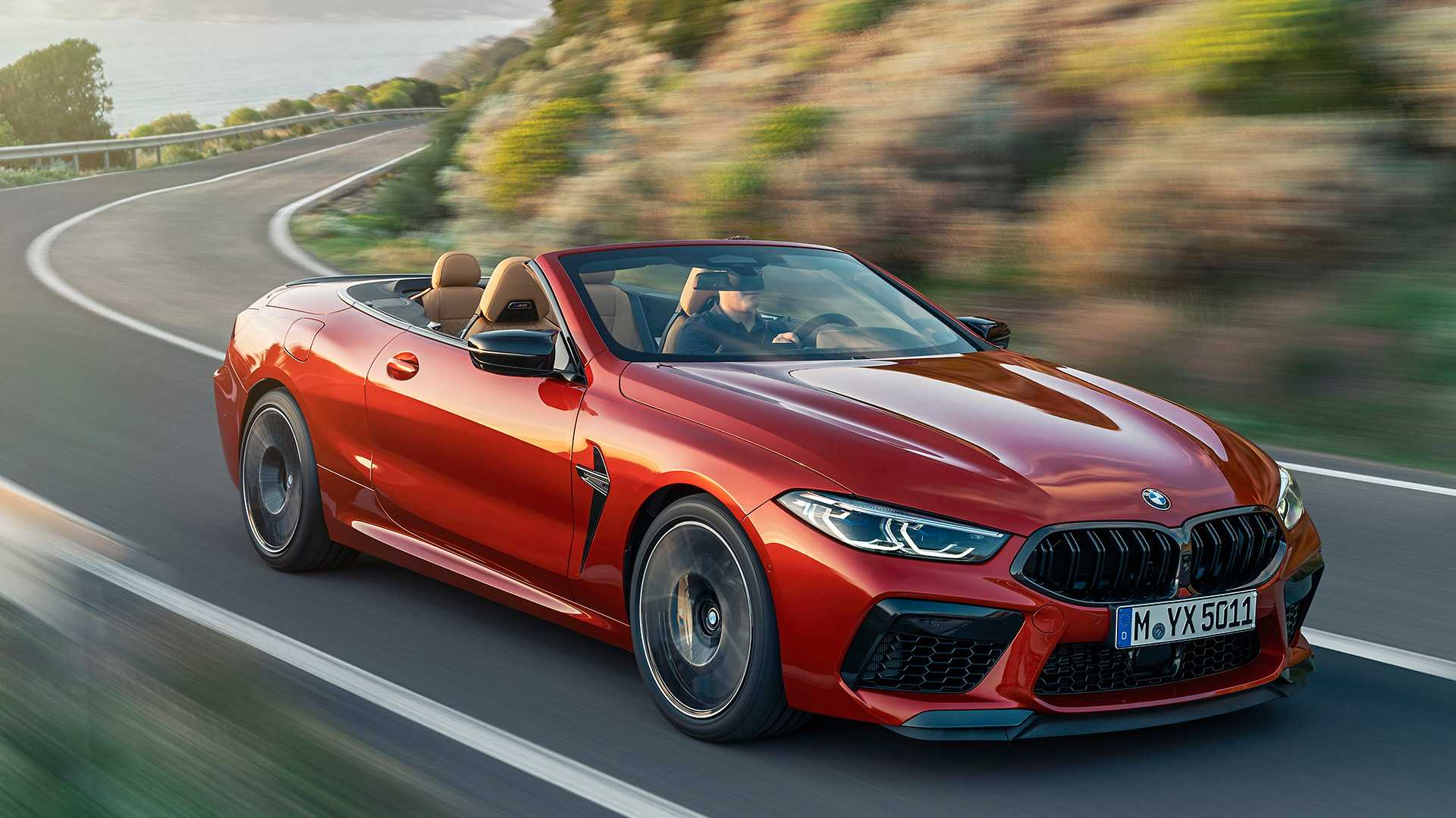 2020 BMW M8 Competition Convertible Front Three-Quarter Wallpapers (2)