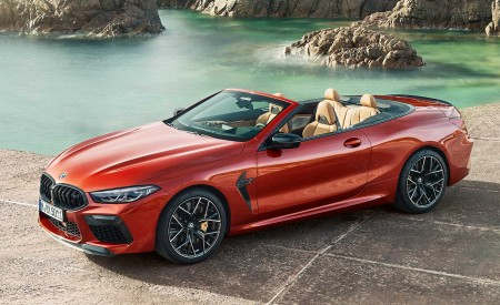 2020 BMW M8 Competition Convertible Front Three-Quarter Wallpapers 450x275 (10)