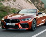 2020 BMW M8 Competition Convertible Front Three-Quarter Wallpapers 150x120 (3)