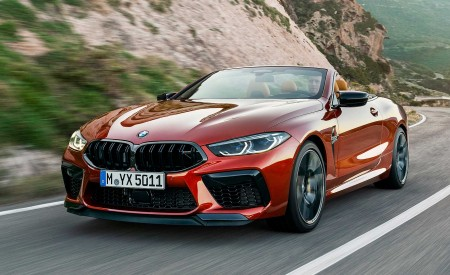 2020 BMW M8 Competition Convertible Front Three-Quarter Wallpapers 450x275 (3)