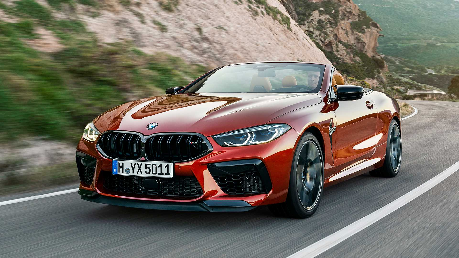 2020 BMW M8 Competition Convertible Front Three-Quarter Wallpapers (3)