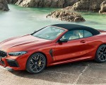 2020 BMW M8 Competition Convertible Front Three-Quarter Wallpapers 150x120 (11)