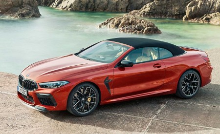 2020 BMW M8 Competition Convertible Front Three-Quarter Wallpapers 450x275 (11)