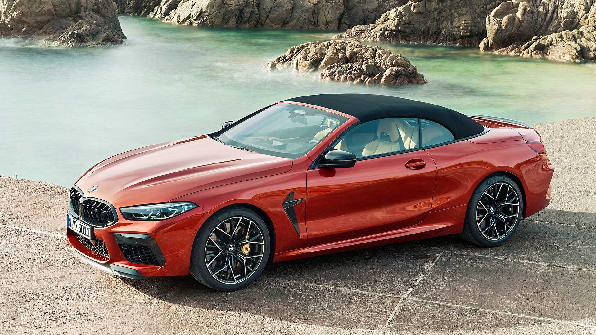 2020 BMW M8 Competition Convertible Front Three-Quarter Wallpapers (11)