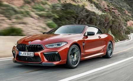 2020 BMW M8 Competition Convertible Front Three-Quarter Wallpapers 450x275 (4)