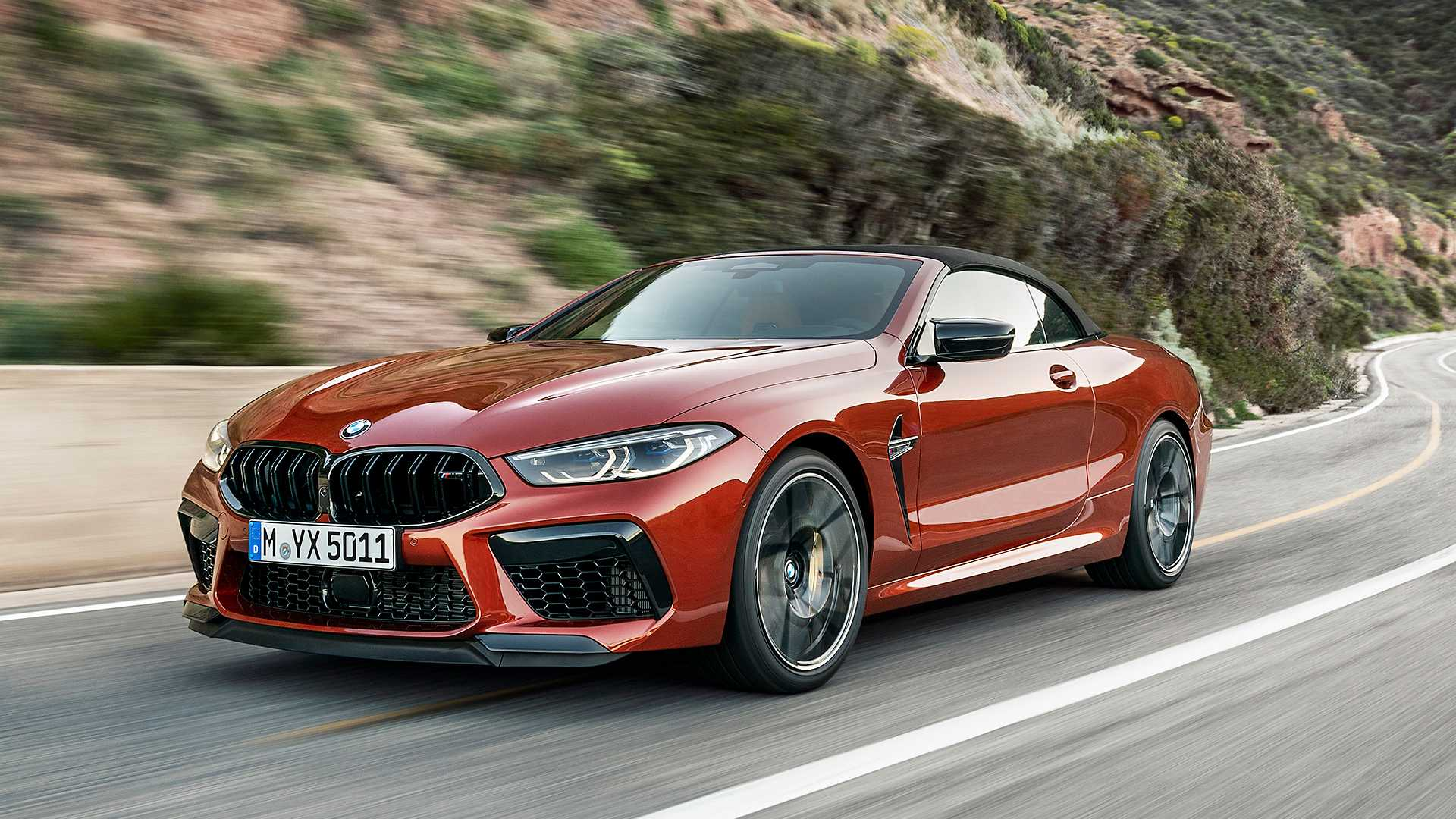 2020 BMW M8 Competition Convertible Front Three-Quarter Wallpapers (4)