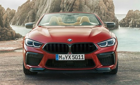 2020 BMW M8 Competition Convertible Front Wallpapers 450x275 (13)