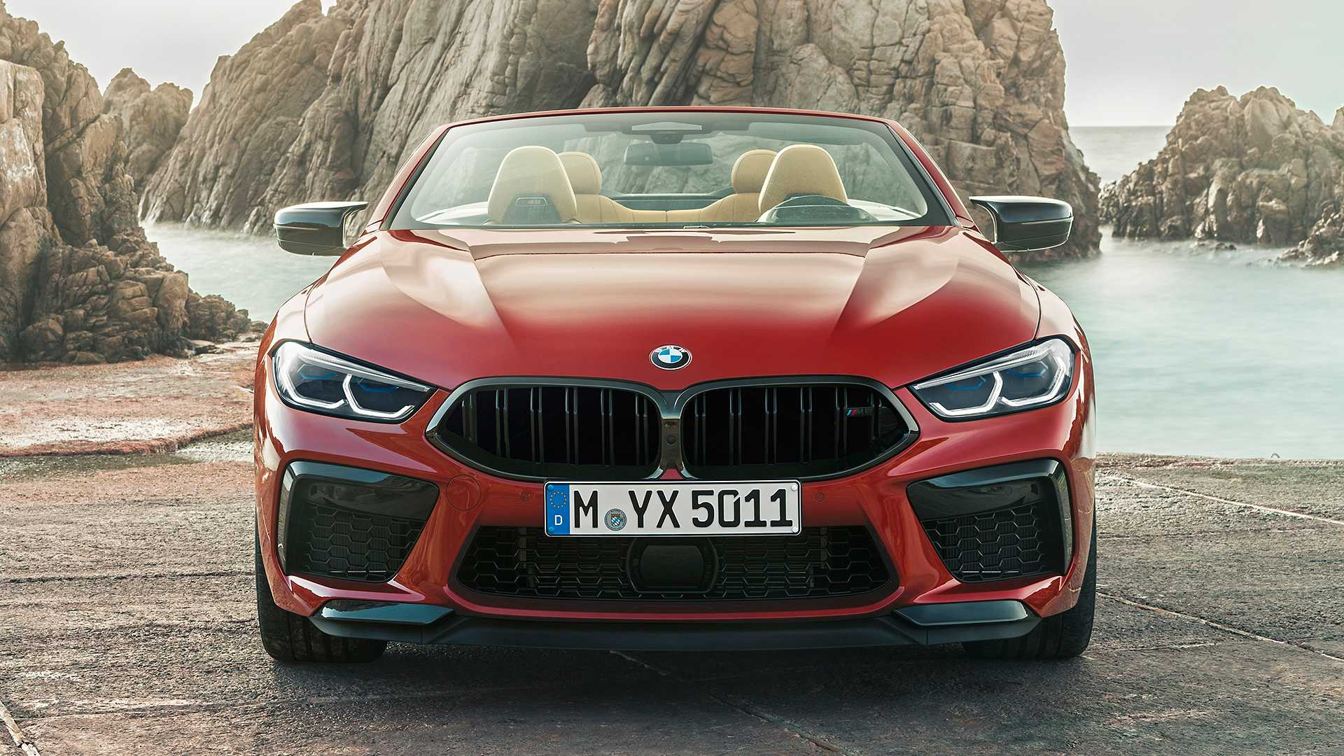 2020 BMW M8 Competition Convertible Front Wallpapers (13)
