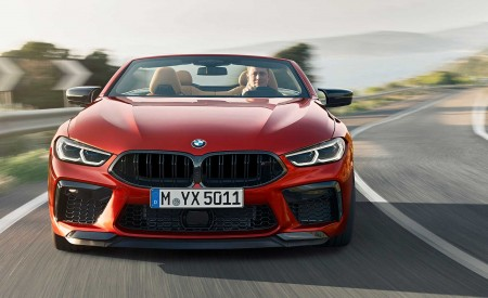 2020 BMW M8 Competition Convertible Front Wallpapers 450x275 (1)