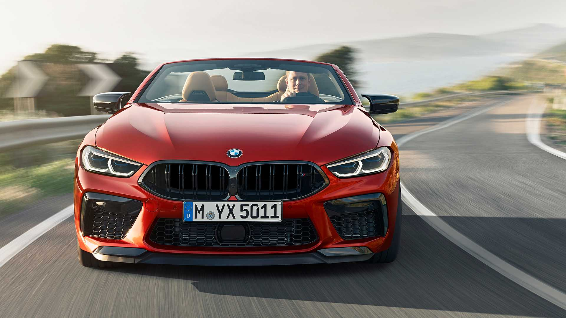2020 BMW M8 Competition Convertible Front Wallpapers (1)