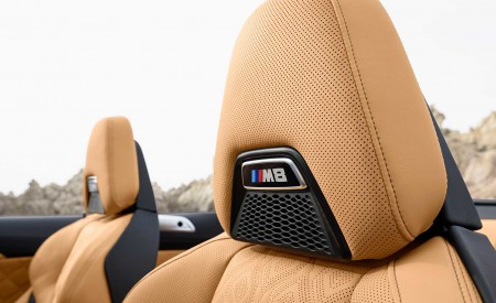 2020 BMW M8 Competition Convertible Interior Front Seats Wallpapers 450x275 (34)