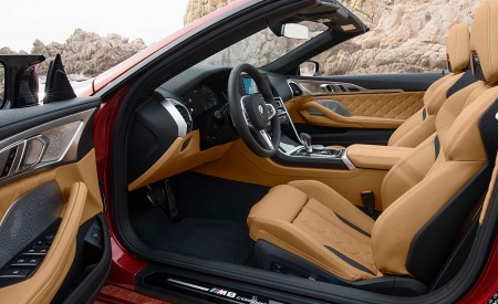 2020 BMW M8 Competition Convertible Interior Front Seats Wallpapers 450x275 (33)