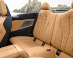 2020 BMW M8 Competition Convertible Interior Rear Seats Wallpapers 150x120 (32)