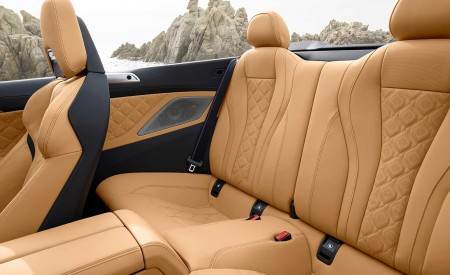 2020 BMW M8 Competition Convertible Interior Rear Seats Wallpapers 450x275 (32)