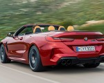 2020 BMW M8 Competition Convertible Rear Three-Quarter Wallpapers 150x120 (6)