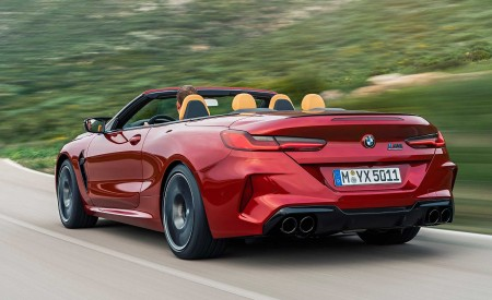 2020 BMW M8 Competition Convertible Rear Three-Quarter Wallpapers 450x275 (6)