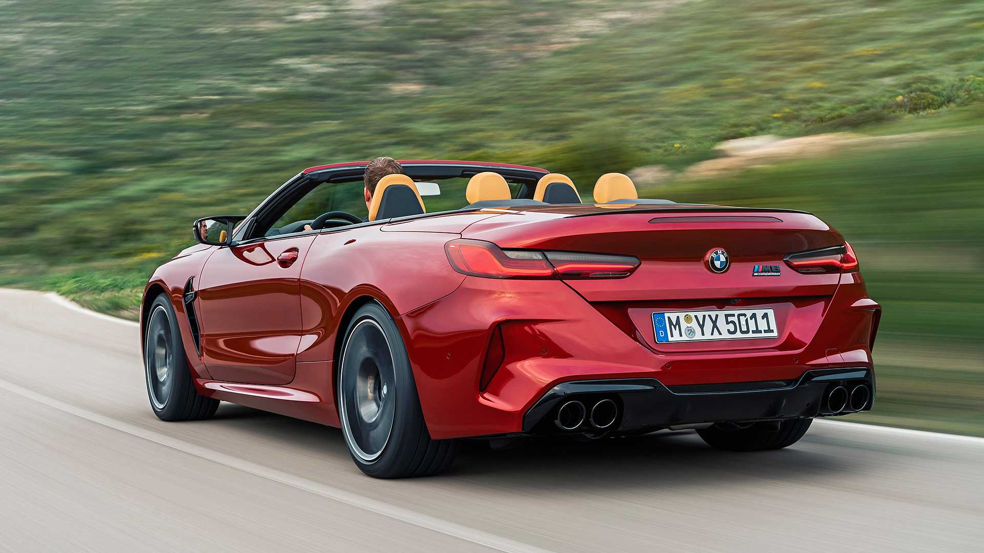 2020 BMW M8 Competition Convertible Rear Three-Quarter Wallpapers (6)