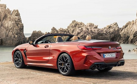2020 BMW M8 Competition Convertible Rear Three-Quarter Wallpapers 450x275 (15)