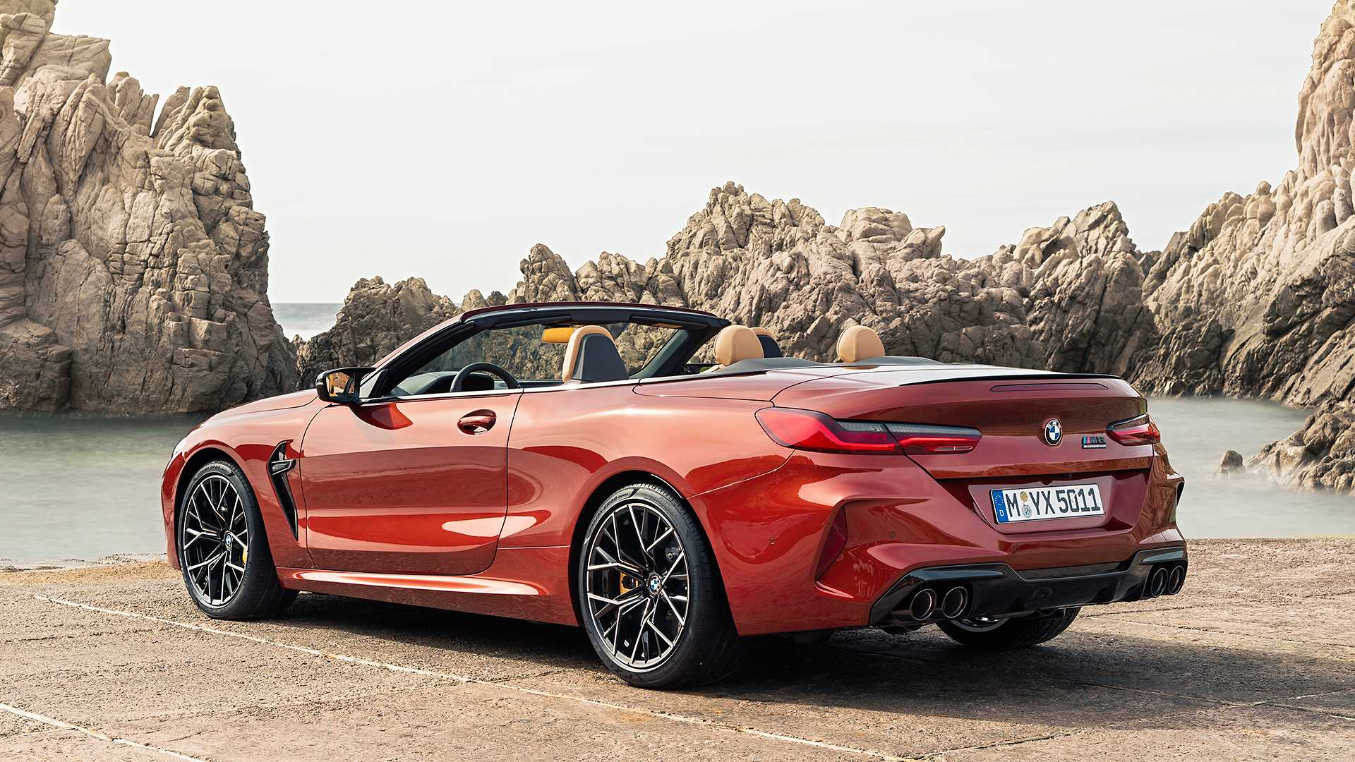 2020 BMW M8 Competition Convertible Rear Three-Quarter Wallpapers (15)