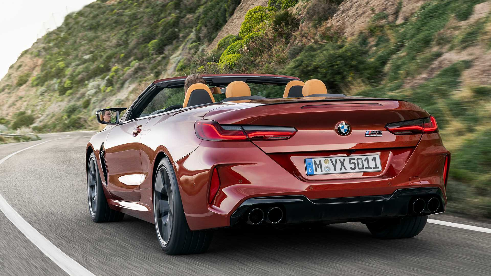 2020 BMW M8 Competition Convertible Rear Three-Quarter Wallpapers (7)