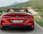 2020 BMW M8 Competition Convertible Rear Wallpapers 150x120 (8)