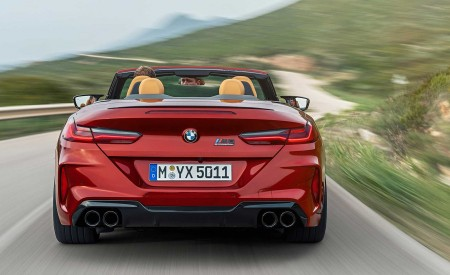 2020 BMW M8 Competition Convertible Rear Wallpapers 450x275 (8)