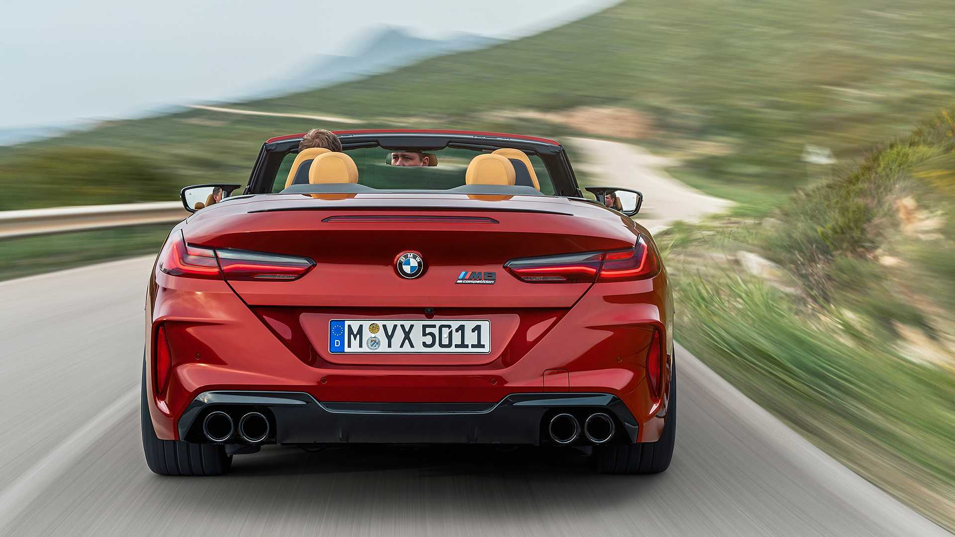 2020 BMW M8 Competition Convertible Rear Wallpapers (8)