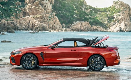 2020 BMW M8 Competition Convertible Side Wallpapers 450x275 (17)