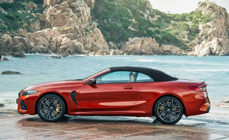 2020 BMW M8 Competition Convertible Side Wallpapers 450x275 (18)