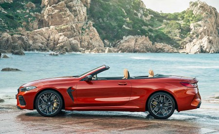 2020 BMW M8 Competition Convertible Side Wallpapers 450x275 (19)