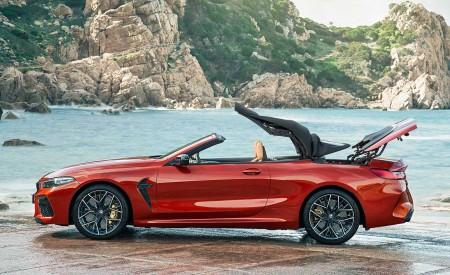 2020 BMW M8 Competition Convertible Side Wallpapers 450x275 (21)