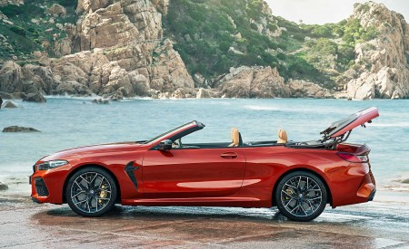 2020 BMW M8 Competition Convertible Side Wallpapers 450x275 (20)