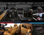 2020 BMW M8 Competition Convertible Technology Wallpapers 150x120 (49)