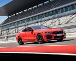 2020 BMW M8 Competition Coupe (Color: Fire Red) Front Three-Quarter Wallpapers 150x120 (22)