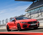 2020 BMW M8 Competition Coupe (Color: Fire Red) Front Three-Quarter Wallpapers 150x120 (23)